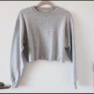 John Galt Cropped Sweatshirt